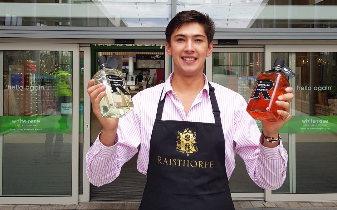Raisthorpe opens new gin shop at White Rose Centre