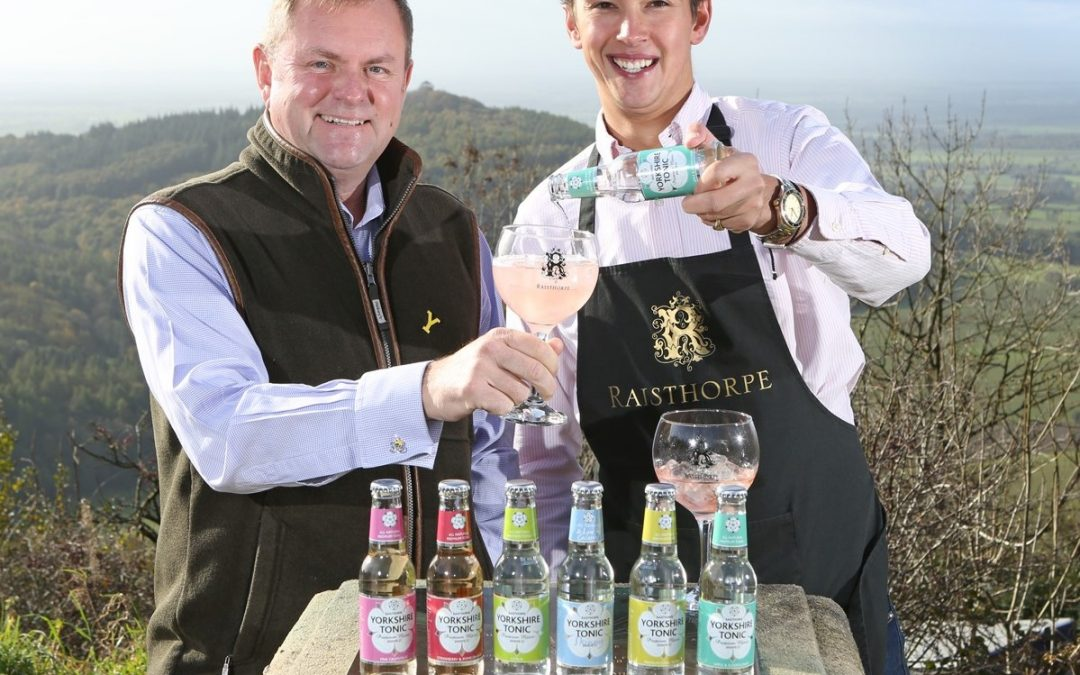 New Yorkshire tonics put the fizz into Raisthorpe's 10th anniversary