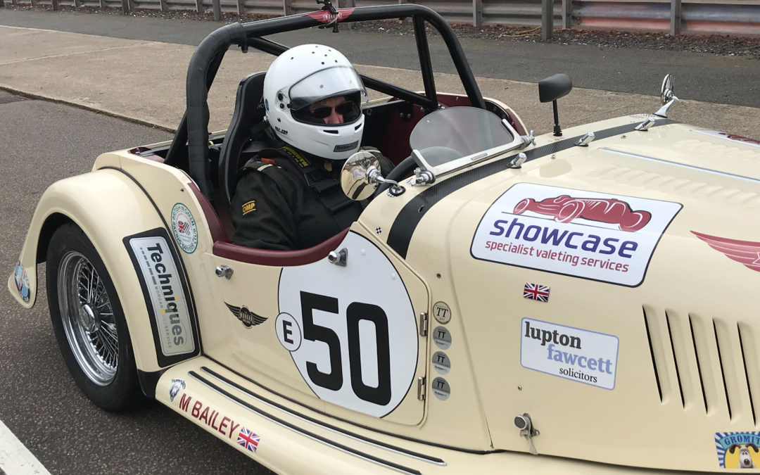 Competing in her Morgan car is the perfect weekend away for Lupton Fawcett corporate lawyer Michele Phillips